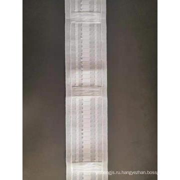 Американская белая лента для штор из полиэстера 8-8,5 см