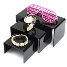 3 PCS Black Acrylic Holder Display for Jewellery