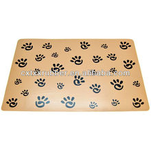 washable and easy clear dog placemats