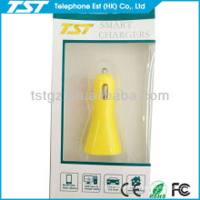 Portable Dual USB Car Charger with TST Packing