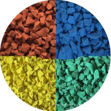 Matière brute EPDM colorée à chaud pour la surface de jeu -RI-301