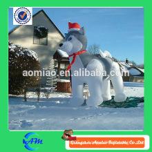Perro fornido inflable encantador del perro inflable encantador de la venta de la venta caliente para la venta