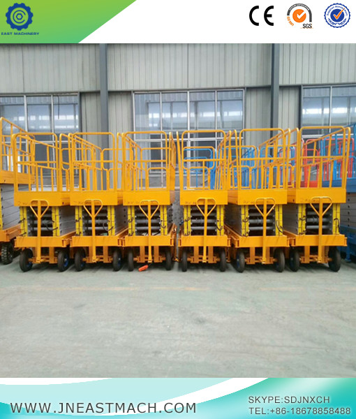 9m Height Mini Mobile Scissor Lift