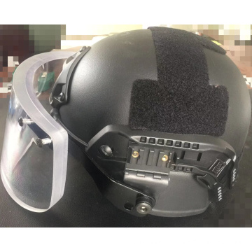 Bullet proof helmet MICH with face shield