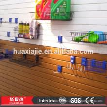 2015 Painel de parede novo do PVC do projeto para o armazenamento
