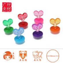 Benutzerdefinierte Stempel für Kinder, süße selbstfärbende Stempel für Kinder, Kinder Spielzeug