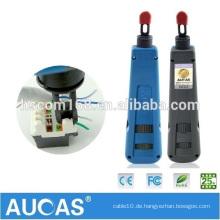 100% nagelneues RJ45 Netz-Durchschlag-Werkzeuge Aucas Auswirkung-Werkzeug-Installationssatz-Satz