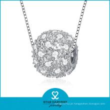 Elegante Jóias Pingente de Prata para Meninas (N-0116)