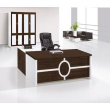 Mobile Aktenbüro mit Verriegelung versteckte Schublade in Weiß