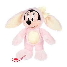 Plush Pink Easter Mickey Toy