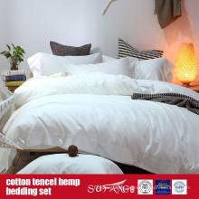 Cotton Lyocell Hanf gemischtes Bett Set Großverkauf der Fabrik