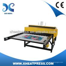 máquina de imprensa de precisão, máquina de imprensa de calor, t-shirt de máquina de pressão pneumática