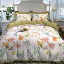 Made in China Best Quality Bedding Cotton Fabric Comfortable for Queen Bed Sheet