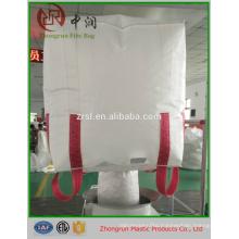 1 ton bulk bag, U panel big bag , 100% new virgin PP bag with PE liner