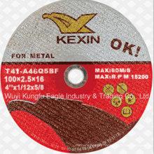 Flat Cutting Disc Cutting Wheel for Metal