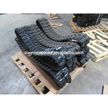 Καλή τιμή για Bobcat Mini Excavator Rubber Tracks, 250mm, 300mm, 320mm, 350mm, 400mm, Mini digger robot rubber track and pads,