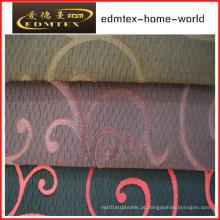 Poliéster tecido sofá jacquard EDM0010
