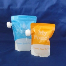 Customized Laminated Plastic Stand up Spout Pouch for Reuse