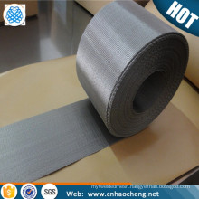 In stock wear resisting PE tape stretching lines 40mm 210mm width reverse dutch weave stainless steel woven wire mesh screen