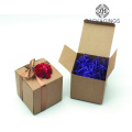 Customize Kraft Paper Gift Packaging Box Square Box