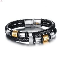 2017 new fashion cool cheap leather bracelet for women