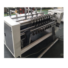 Corrugated paperboard carton box automatic partition slotter packing machinery