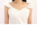 LADIES SUMMER WHITE TOP