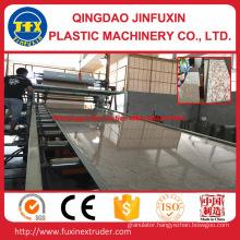 PVC Imitation Marble Sheet Extruder Machine (SJ-80/156)