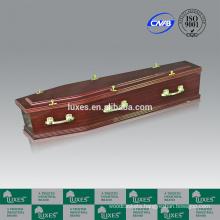 Discount Caskets Online LUXES Sapele Paper Veneer Coffins A30-GHT