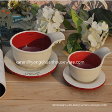 Ceramic Coffee Cupand Plate