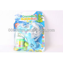 12cm spray painting friction powered bubble toy gun
