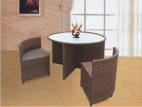 Outdoor Garden Wicker furniture set
