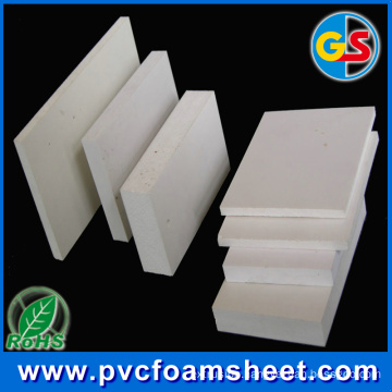 PVC Foam Sheet Price From China Goldensign Supplier (Popular size: 1.22m*2.44m)
