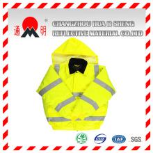 Chaleco reflectante amarillo-verde con alta visibilidad reflectante (chaleco-3)