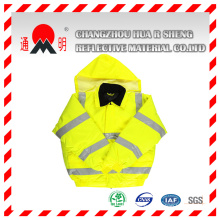 Yellow-Green Reflective Vest with High Visibility Reflective Strips (vest-3)