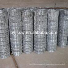 Clôture de champ en acier galvanisé à haute résistance à vendre