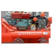 Diesel Engine Drive Piston Air Compressor with Changchai