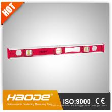 I Nivel de haz con tiras magnéticas Marco reforzado con aluminio