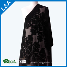 Classic Burnt-out Velvet Scarves Shawls Factory Customized