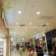 Shopping Mall Aluminum Metal Square Decorative Ceiling (KH-SMC-04)