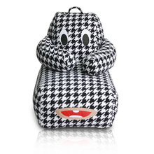 Animal Pattern kids bean bag lazy sofa chair