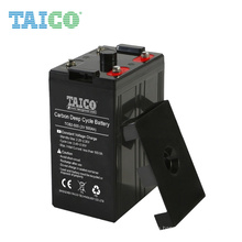 marine application 5000-8000 cycles akku lead carbon battery 2v 500ah lipo battery for electric boat outdoor solar system