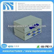 Manual 4 Port 4 Way VGA Switch Box/VGA Monitor Sharing Switch Box Adapter