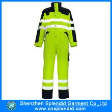 Atacado Vestuário Homens Alta Visibilidade Segurança Fishing Reflector Jacket