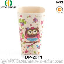 2016 Hot Sales Pretty Design Bamboo Fiber Cup (HDP-2011)