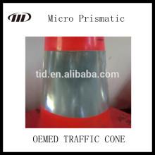Fita reflexiva de cone de tráfego