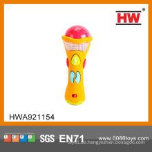 Heißer Verkaufs-B / O Spielzeug-Babymikrofon mit Musikkind-Karaoke-Mikrofonset