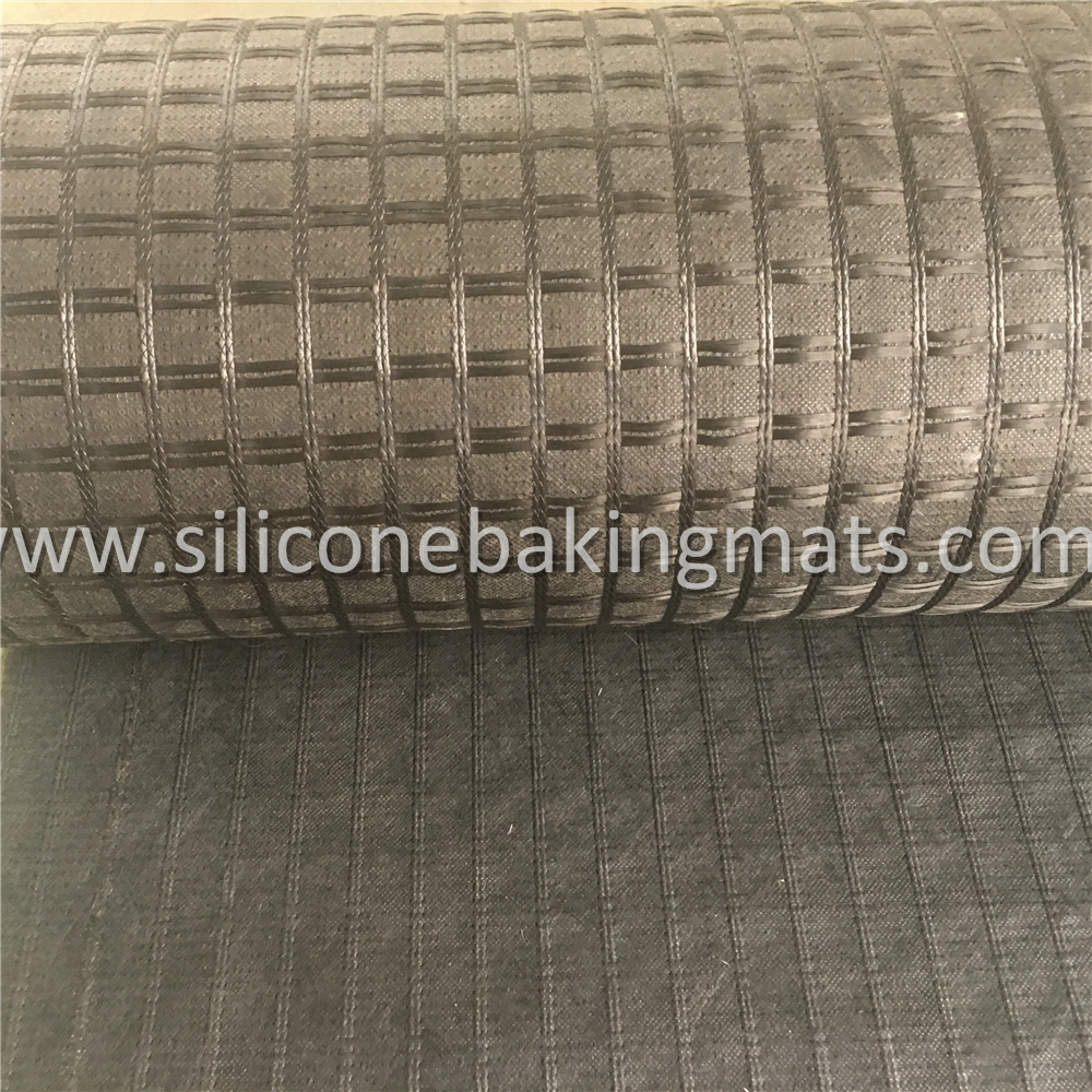Fiberglass Geogrid With Geotextile