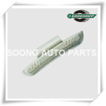 Uncoated or Coated Lead(PB) Clip on Wheel weights for Alloy Wheels, Universal type, Super Quality