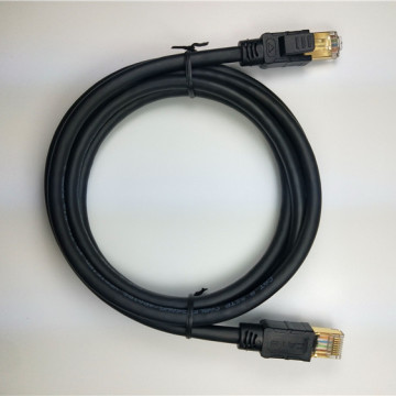 Cable Ethernet S / FTP Cat8 resistente a la intemperie